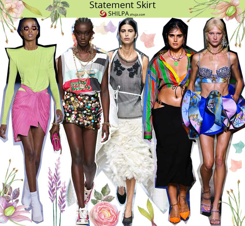 spring summer 2021 ss21 best skirt silhouettes Statement-Skirt