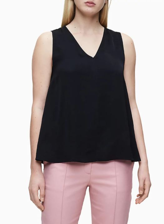 a line top what to wear to hide a big stomach