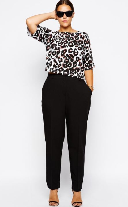 straight cut trousers what to wear to hide a big stomach