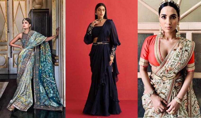 belted-silhouettes-jj-valaya-ridhi-mehra-jj-valaya-saree-trends-2021