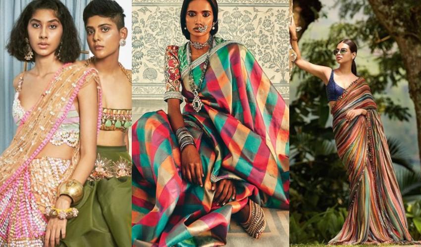 multicolor-sarees-shubika-neetu-lulla-sabyasachi-saree-trends-2021