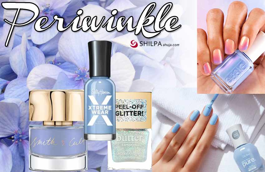 nail colors for january 2021 periwinkle