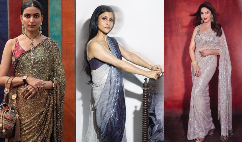 sequin-saree-trends-2021-sabyasachi-manish-malhotra-rimple-and-harpreet