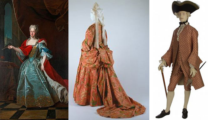 18th Century Fashion and Makeup