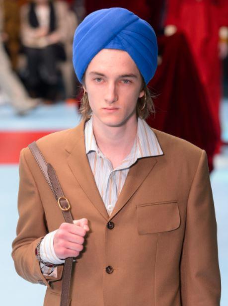 Cultural Appropriation in fashion Gucci Fashion Show 2018 Indy Turban