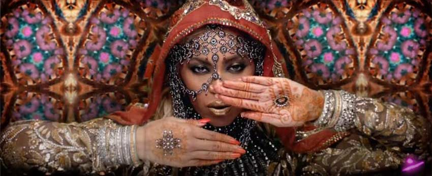 Cultural Appropriation in fashion Beyonce in Hymn for the Weekend music video