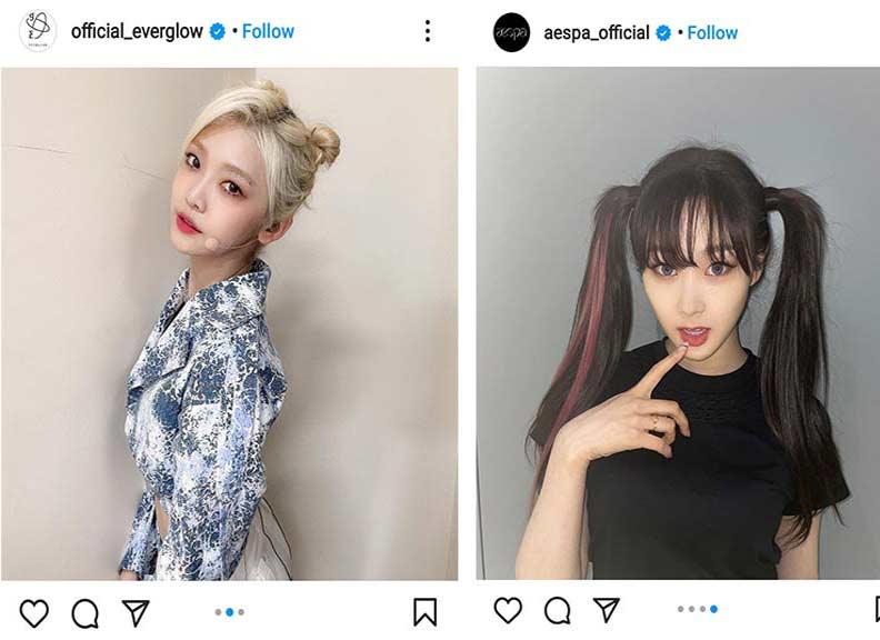 k-pop idols popular hairstyles