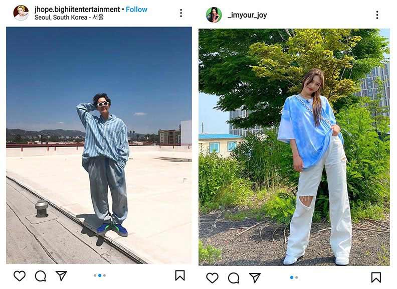 K-pop oversized outfits fashion