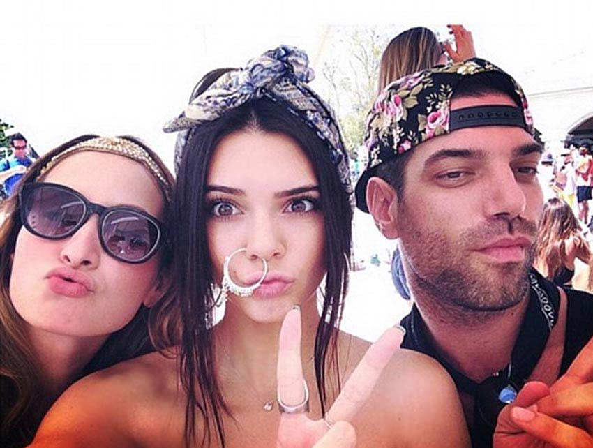 Cultural Appropriation in fashion Kendall Jenner in an Indian nose ring for coachella 2014