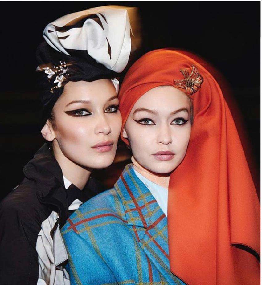 Cultural Appropriation in fashion Marc Jacobs 2018 Gigi and Bella Hadid