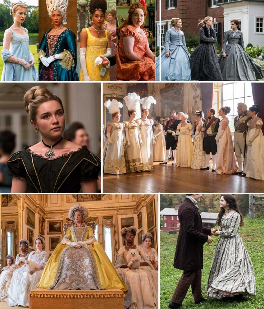 Popular European society and fashion shows