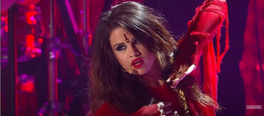 Cultural Appropriation in fashion Selena Gomez performing come and get it on MTV Movie Awards