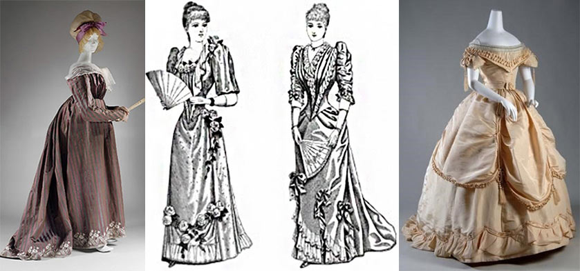 Women's dressing in Victorian society