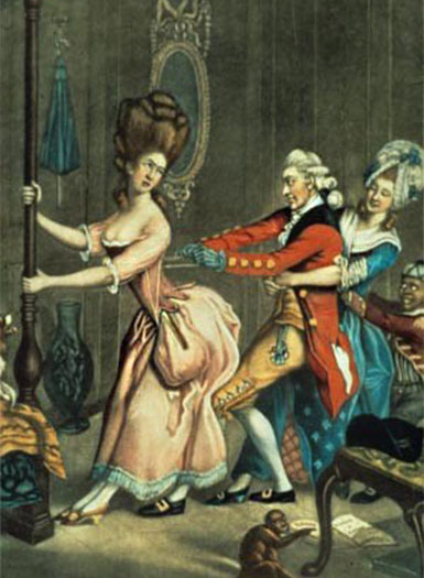 women and corsets as gender clothing and society roles
