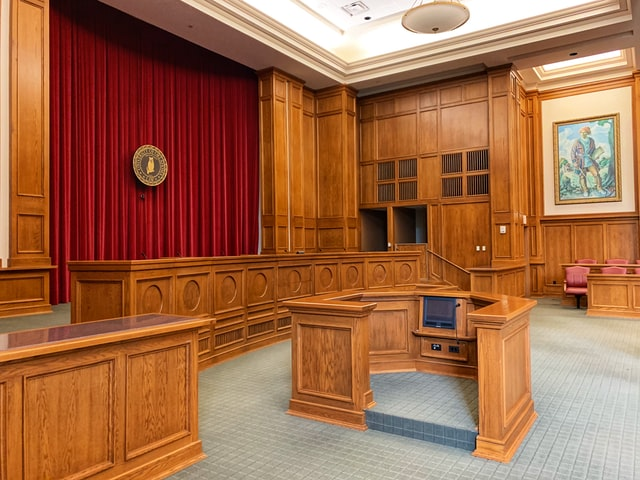 court room extra stressful meeting dealines