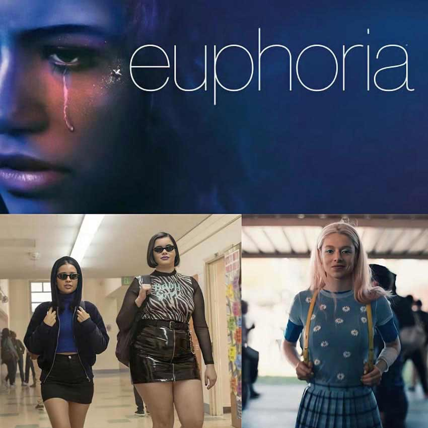 Euphoria - most fashionable TV shows for fashion lovers