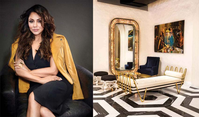 Arth Restaurant Designed by Gauri Khan top interior designer in India