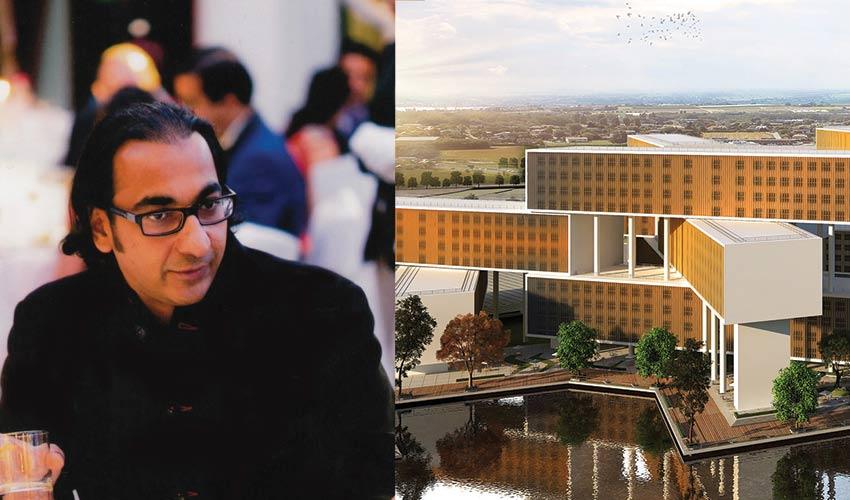 Infosys Campus Designed by Manit Rastogi top interior designer in India