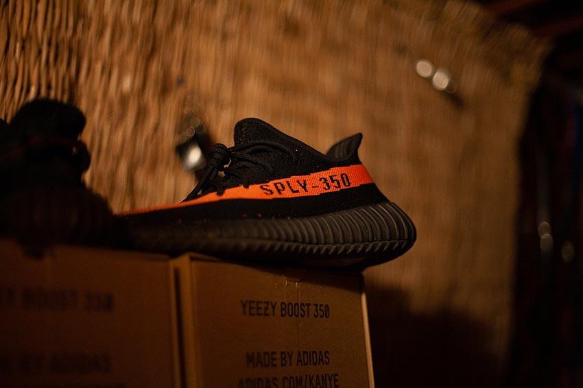Adidas Yeezy brand collaboration