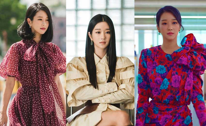 high fashion in K-dramas its okay to not be okay