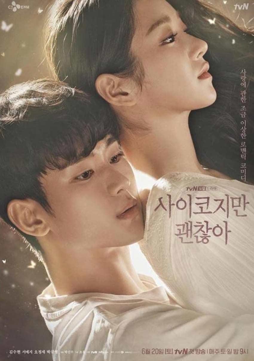 its okay to not be okay k-drama poster