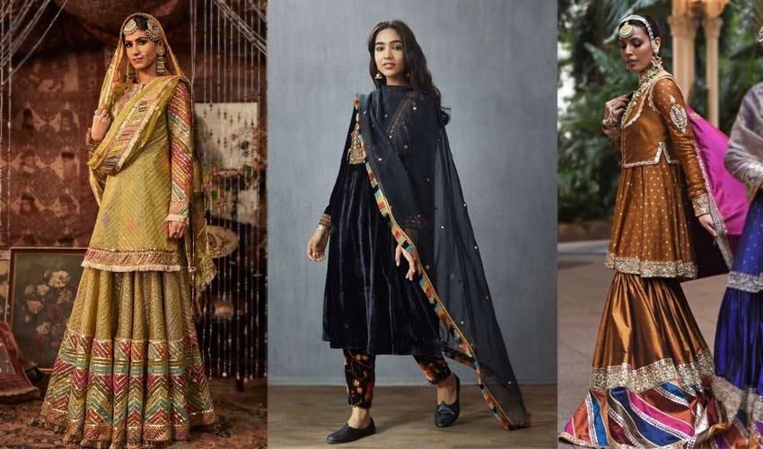 latest-indian-suit-trend-multi-colored-borders-Rimple-and-Harpreet-Toran...