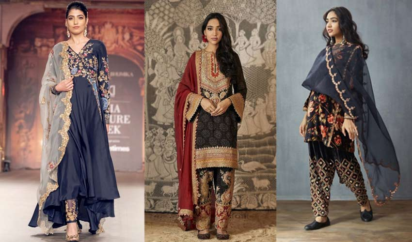 latest-indian-suit-trend-statement-pants-Shyamal-and-Bhumika-Rimple-and-...