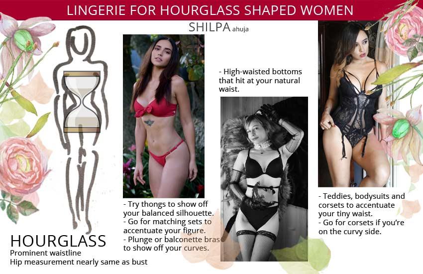 lingerie-hourglass-shaped-body-type-women