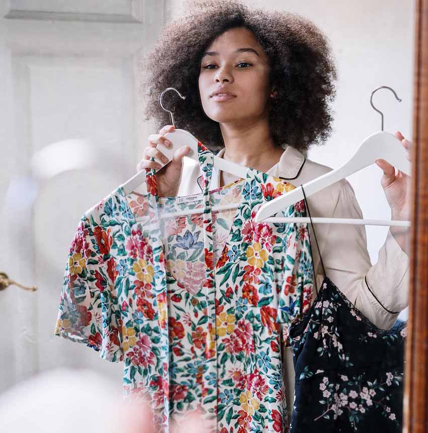 dresses influencers fashion choosing clothes styling shopping