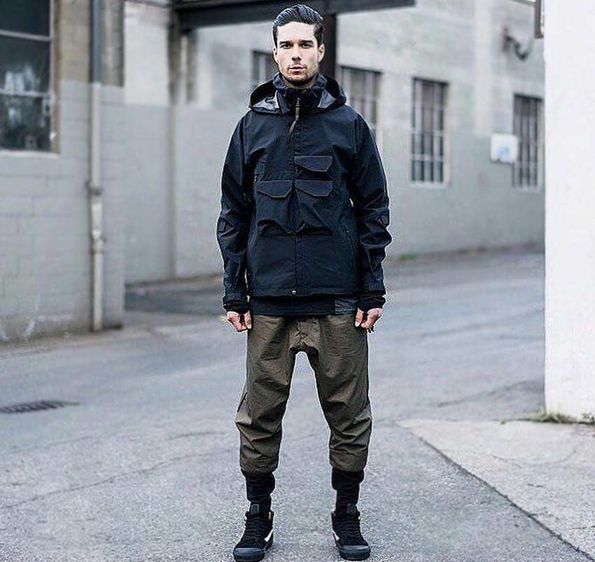 Techwear subculture clothing