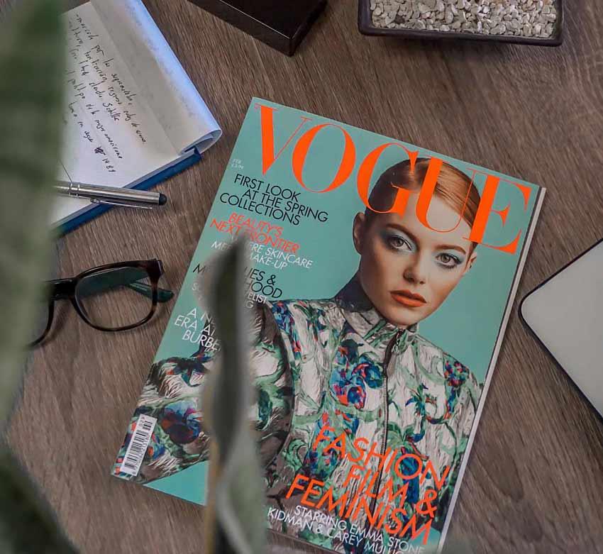 magazine vogue blogs writing content fashion trending