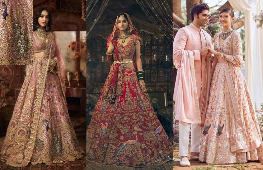 Bird-Motifs-indian-bridal-fashion-trends-Rimple-Harpreet-Narula