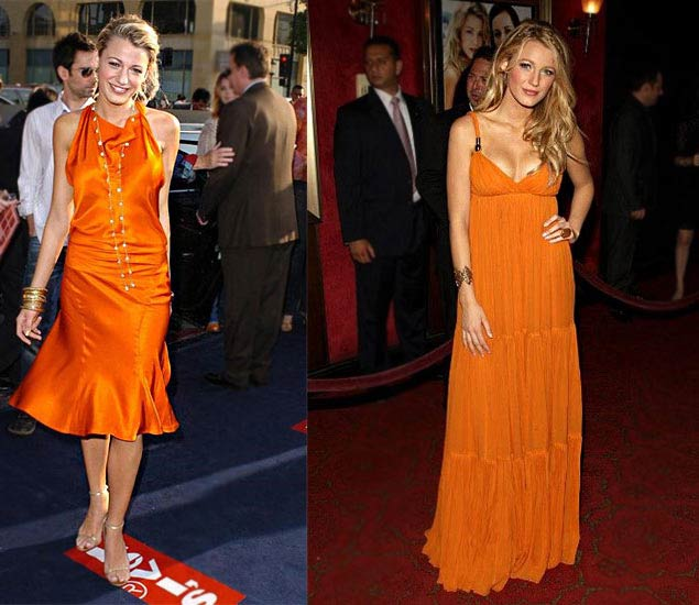 Blake Lively's fashion evolution premieres of first big movie dilogy
