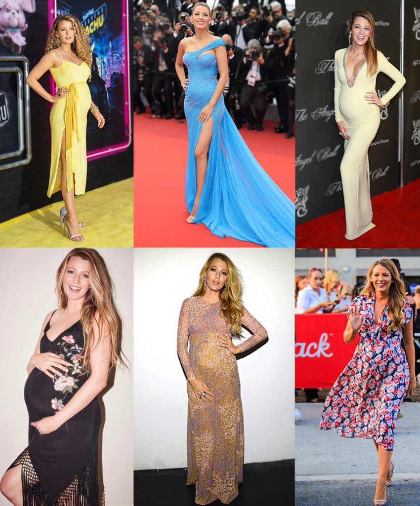 Blake Lively pregnancy outfits inspiration