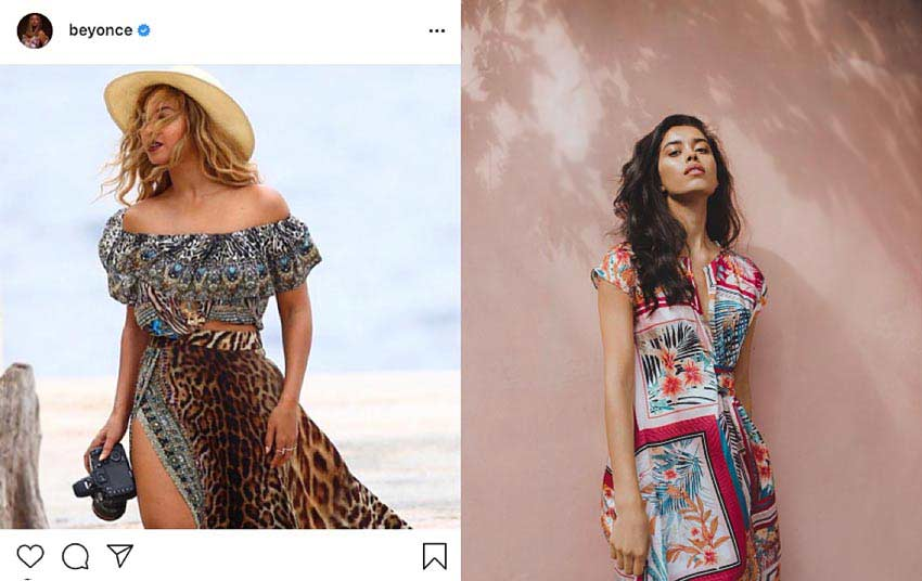 Bohemian-chic-Beyonce-Instagram-floral-earthy.