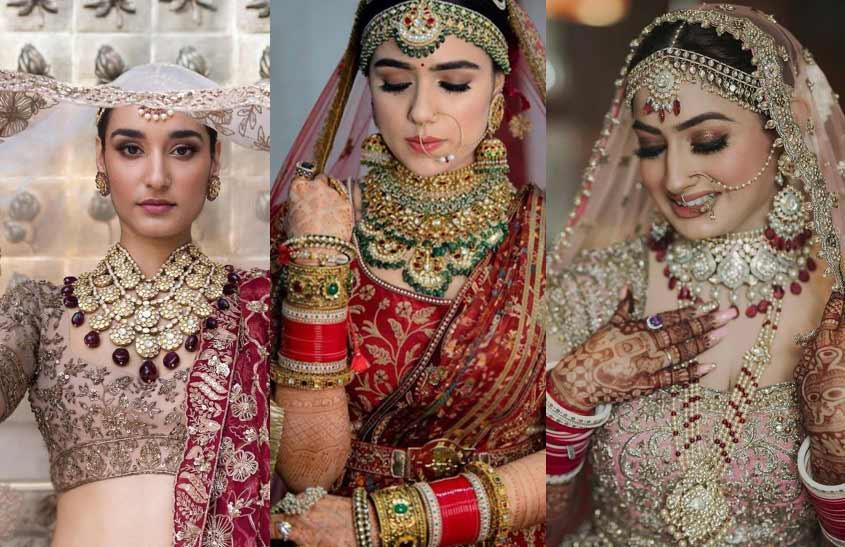 Contrast-Jewelry-indian-bridal-fashion-trends-manish-malhotra-jjvalaya-Rimple-Harpreet-Narula
