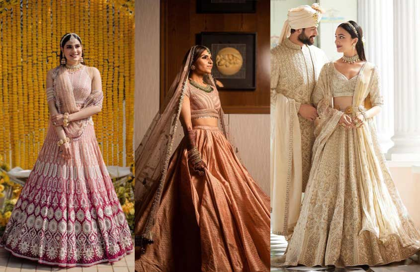 Lightweight-Flowy-Attire-indian-bridal-fashion-trends-tarun-tahiliani-shantanu-nikhil-anita-dongre