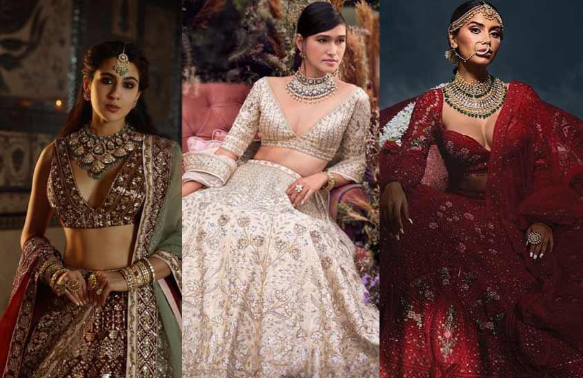 Plunging-Necklines-indian-bridal-fashion-trends-manish-malhotra-anita-dongre-falguni-shane-peacock