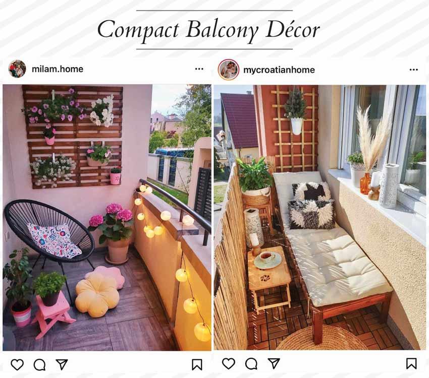 small balcony décor ideas